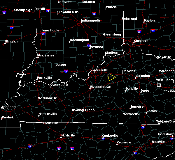 Radar Image for Severe Thunderstorms near River Bluff, KY at 6/30/2015 9:07 PM EDT