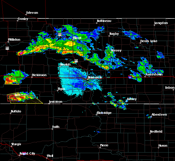 Radar Image for Severe Thunderstorms near Bowman, ND at 6/30/2015 7:06 PM MDT