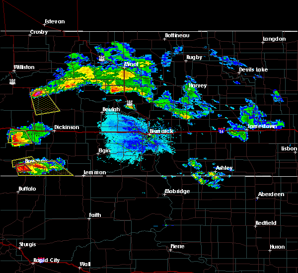 Radar Image for Severe Thunderstorms near Bowman, ND at 6/30/2015 7:13 PM MDT