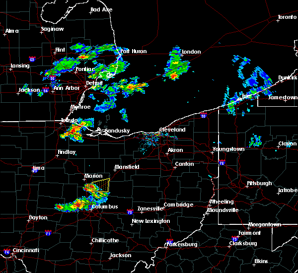 Radar Image for Severe Thunderstorms near Mount Gilead, OH at 6/30/2015 9:12 PM EDT