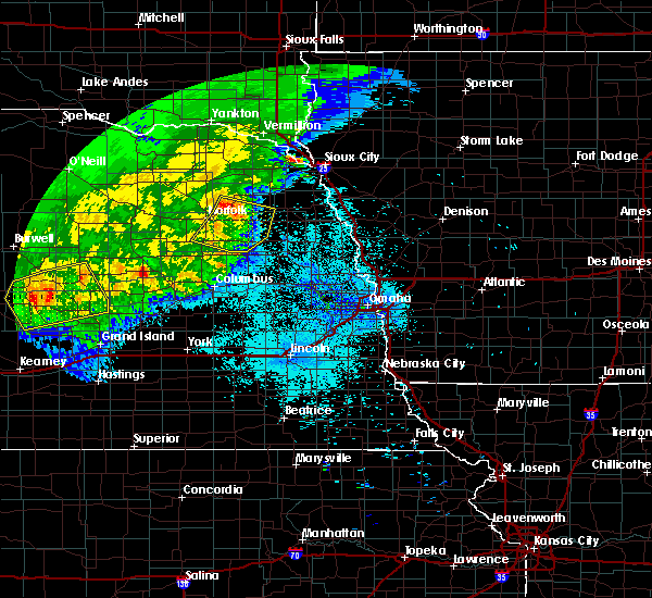 Radar Image for Severe Thunderstorms near Winside, NE at 7/11/2020 12:08 AM CDT