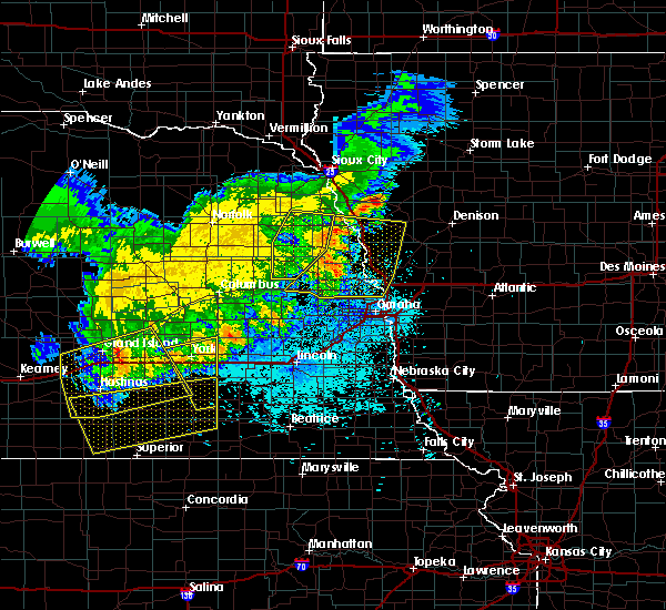 Radar Image for Severe Thunderstorms near Scribner, NE at 7/11/2020 1:14 AM CDT