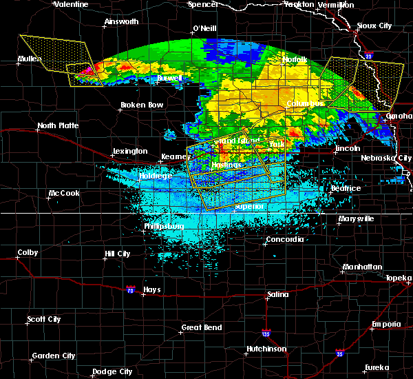 Radar Image for Severe Thunderstorms near Lushton, NE at 7/11/2020 1:16 AM CDT