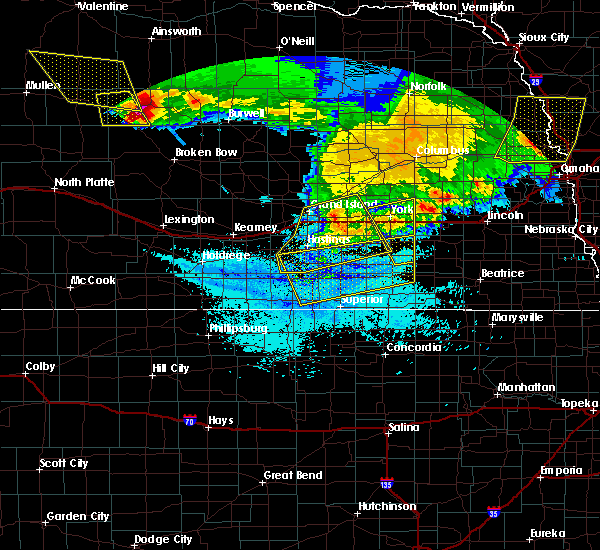 Radar Image for Severe Thunderstorms near Lushton, NE at 7/11/2020 1:26 AM CDT