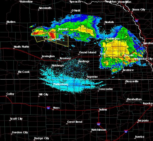 Radar Image for Severe Thunderstorms near Ord, NE at 7/11/2020 2:12 AM CDT