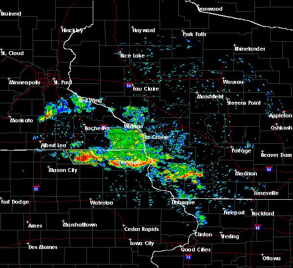 Radar Image for Severe Thunderstorms near Elma, IA at 7/11/2020 7:56 AM CDT