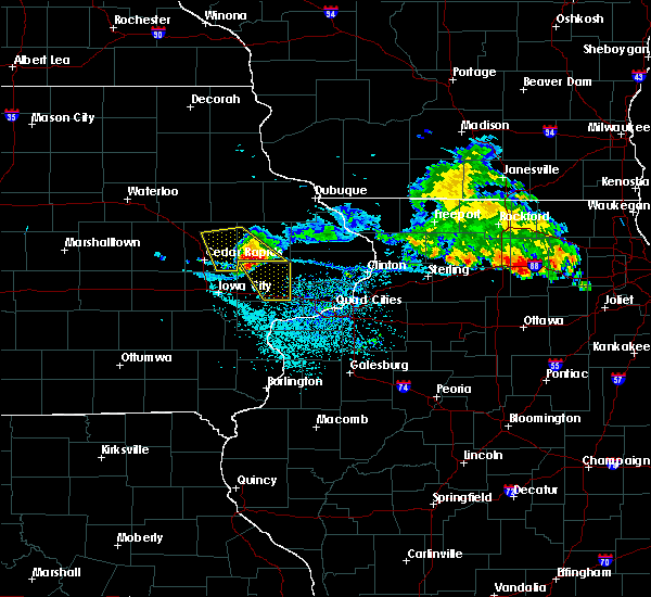 Radar Image for Severe Thunderstorms near Martelle, IA at 7/11/2020 11:00 AM CDT