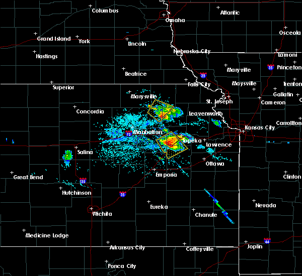 Radar Image for Severe Thunderstorms near Havensville, KS at 7/11/2020 2:13 PM CDT