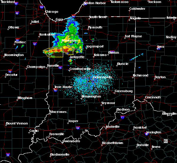 Radar Image for Severe Thunderstorms near Monticello, IN at 7/11/2020 3:15 PM EDT