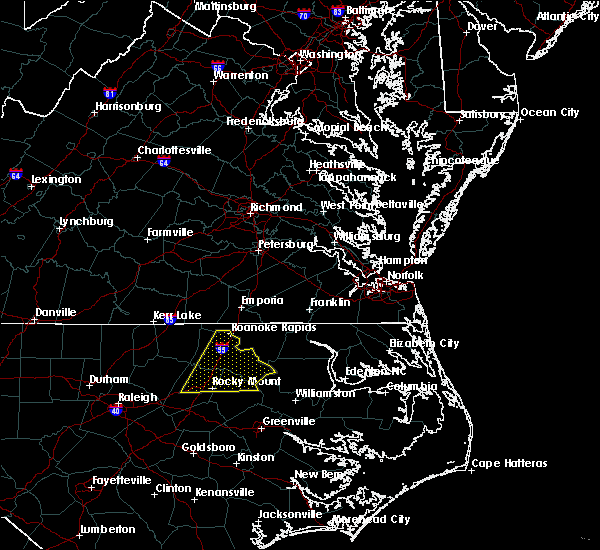 Radar Image for Severe Thunderstorms near Halifax, NC at 6/30/2015 9:38 PM EDT