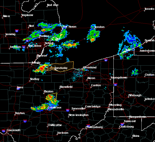 Radar Image for Severe Thunderstorms near Marengo, OH at 6/30/2015 9:38 PM EDT