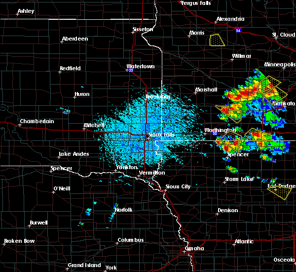 Radar Image for Severe Thunderstorms near Jackson, MN at 7/11/2020 2:29 PM CDT