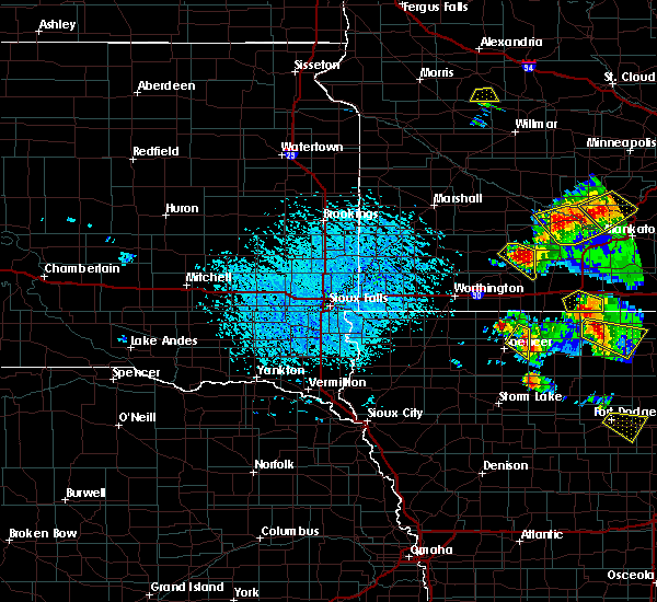 Radar Image for Severe Thunderstorms near Terril, IA at 7/11/2020 2:49 PM CDT