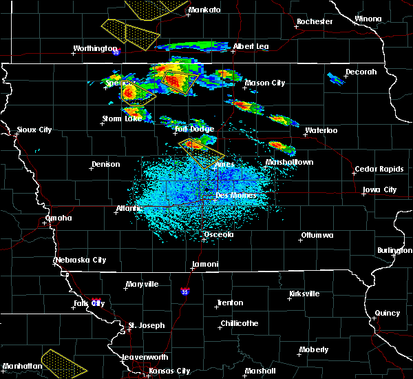 Radar Image for Severe Thunderstorms near Thornton, IA at 7/11/2020 3:06 PM CDT