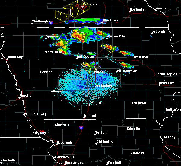 Radar Image for Severe Thunderstorms near Rodman, IA at 7/11/2020 3:17 PM CDT