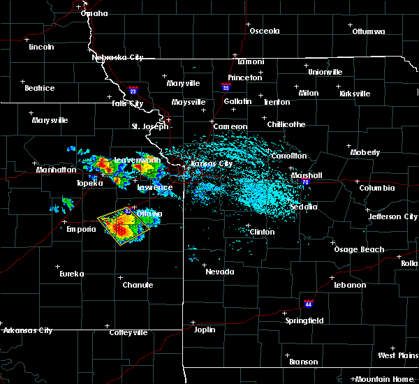 Radar Image for Severe Thunderstorms near Basehor, KS at 7/11/2020 3:29 PM CDT