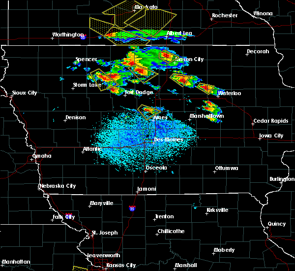 Radar Image for Severe Thunderstorms near Dumont, IA at 7/11/2020 3:38 PM CDT