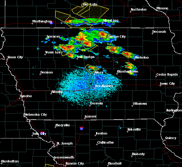 Radar Image for Severe Thunderstorms near Palmer, IA at 7/11/2020 3:41 PM CDT