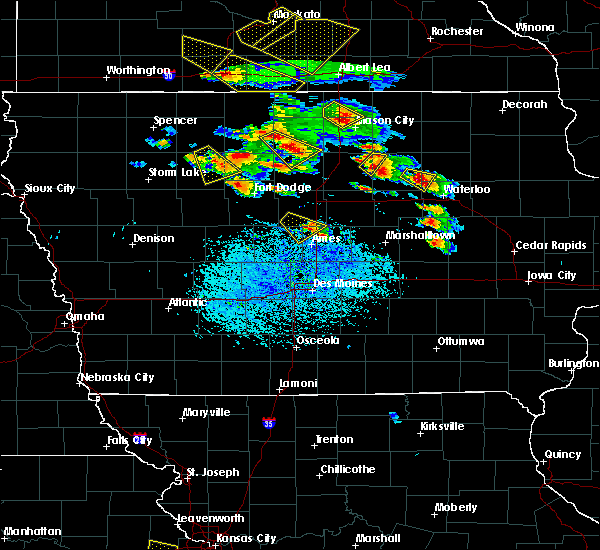 Radar Image for Severe Thunderstorms near Dumont, IA at 7/11/2020 3:44 PM CDT