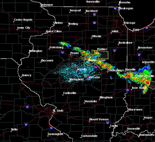 Radar Image for Severe Thunderstorms near Fisher, IL at 7/11/2020 4:42 PM CDT