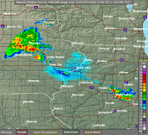 Radar Image for Severe Thunderstorms near Newhall, IA at 7/11/2020 5:02 PM CDT