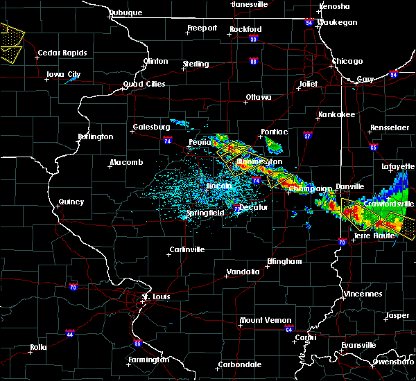 Radar Image for Severe Thunderstorms near Lake of the Woods, IL at 7/11/2020 5:02 PM CDT