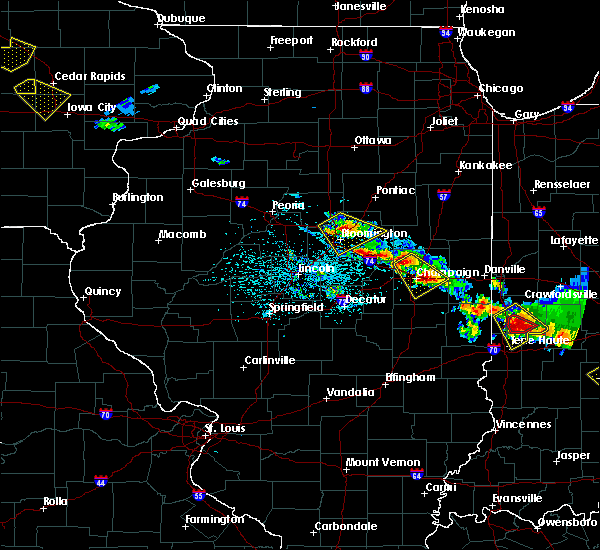 Radar Image for Severe Thunderstorms near Hume, IL at 7/11/2020 5:34 PM CDT