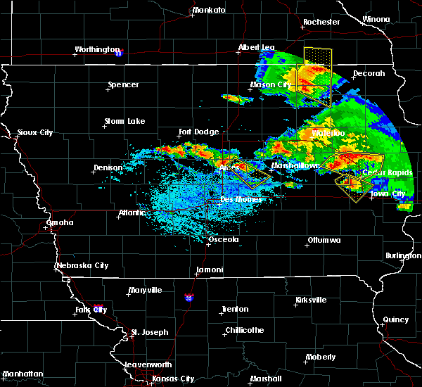 Radar Image for Severe Thunderstorms near Ames, IA at 7/11/2020 5:43 PM CDT