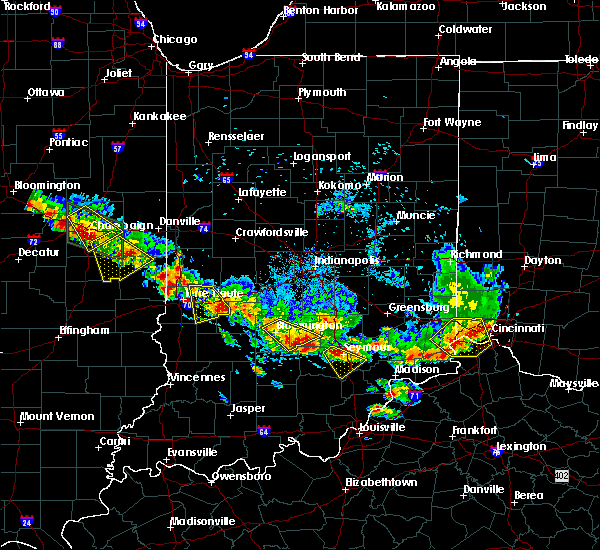 Radar Image for Severe Thunderstorms near Crothersville, IN at 7/11/2020 7:02 PM EDT