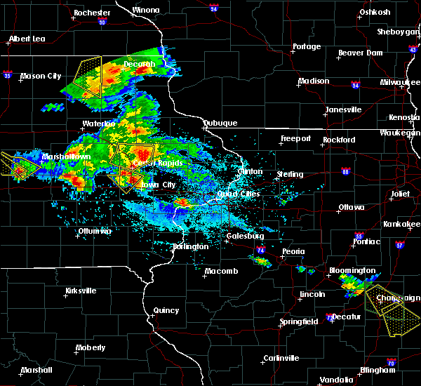 Radar Image for Severe Thunderstorms near Springville, IA at 7/11/2020 6:07 PM CDT