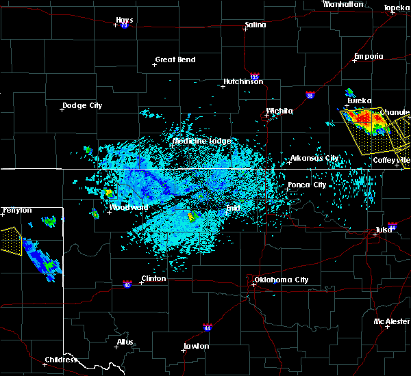 Radar Image for Severe Thunderstorms near Carrier, OK at 7/11/2020 6:35 PM CDT