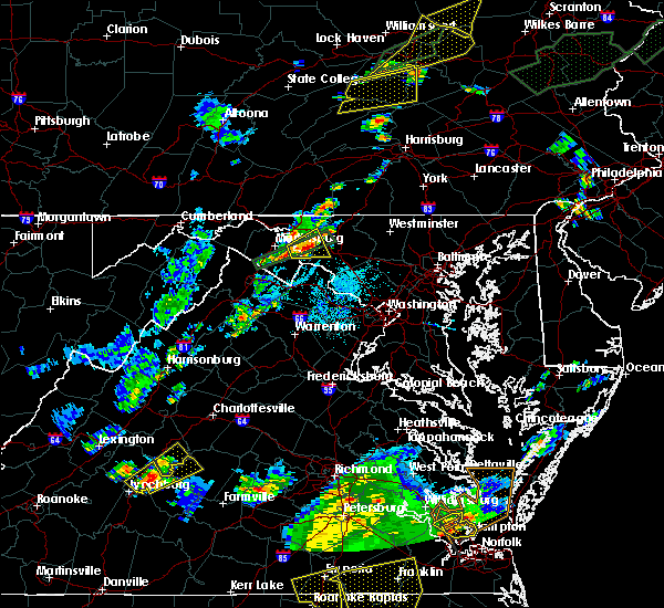 Radar Image for Severe Thunderstorms near Antietam, MD at 6/30/2015 10:00 PM EDT