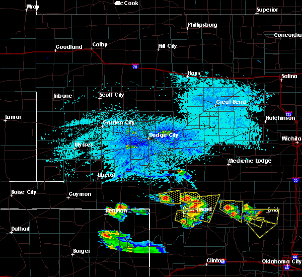Radar Image for Severe Thunderstorms near May, OK at 7/11/2020 7:02 PM CDT