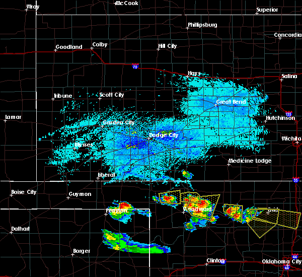 Radar Image for Severe Thunderstorms near May, OK at 7/11/2020 7:15 PM CDT