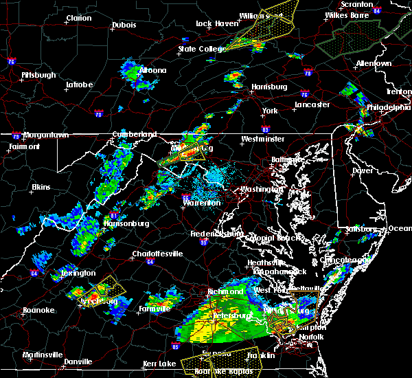 Radar Image for Severe Thunderstorms near Union Bridge, MD at 6/30/2015 10:05 PM EDT