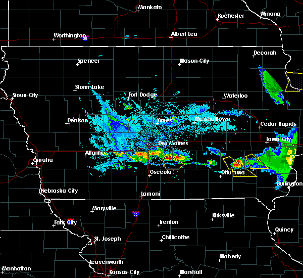 Radar Image for Severe Thunderstorms near Lacona, IA at 7/11/2020 7:43 PM CDT
