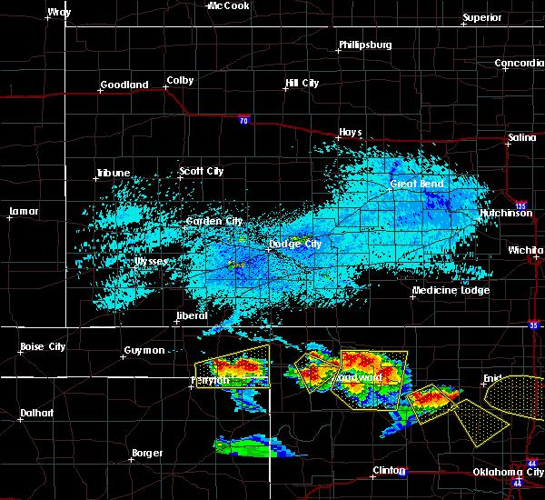 Radar Image for Severe Thunderstorms near Follett, TX at 7/11/2020 7:53 PM CDT