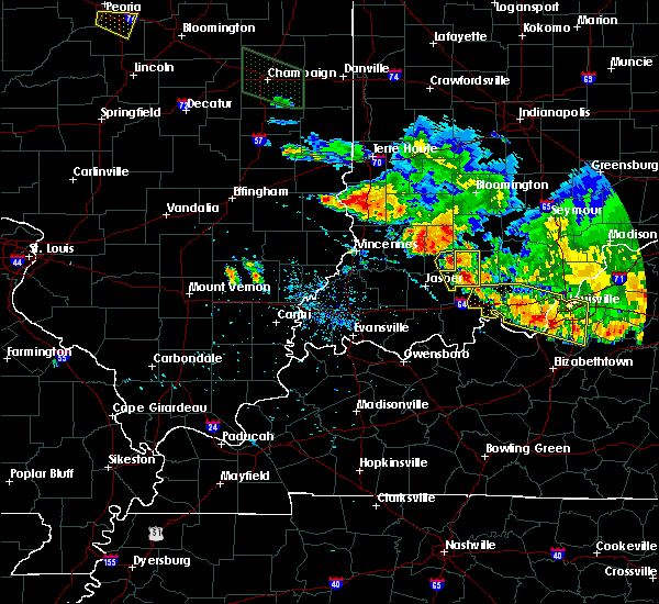 Radar Image for Severe Thunderstorms near Shoals, IN at 7/11/2020 9:02 PM EDT