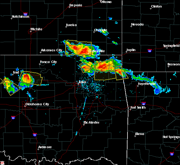Radar Image for Severe Thunderstorms near Nowata, OK at 7/11/2020 8:04 PM CDT