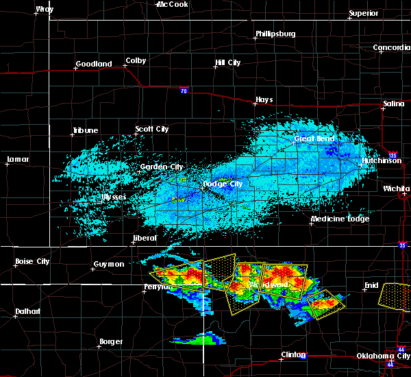 Radar Image for Severe Thunderstorms near May, OK at 7/11/2020 8:09 PM CDT
