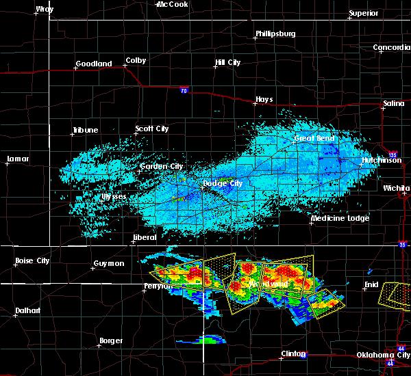 Radar Image for Severe Thunderstorms near Gate, OK at 7/11/2020 8:16 PM CDT