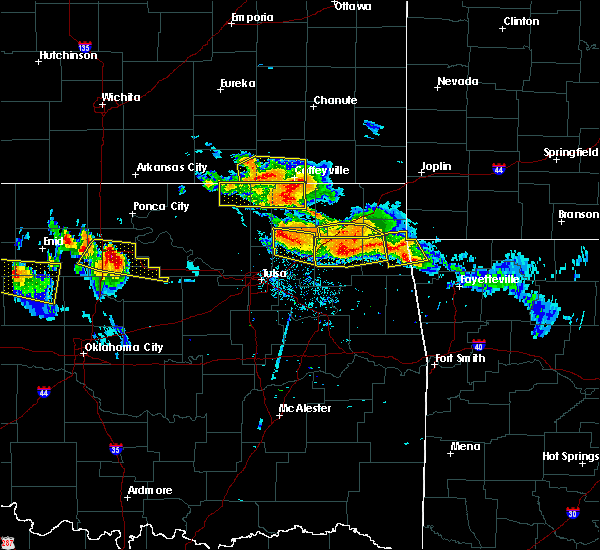 Radar Image for Severe Thunderstorms near Niotaze, KS at 7/11/2020 8:25 PM CDT