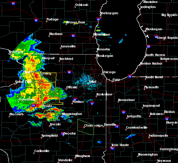 Radar Image for Severe Thunderstorms near Kangley, IL at 7/11/2020 8:28 PM CDT
