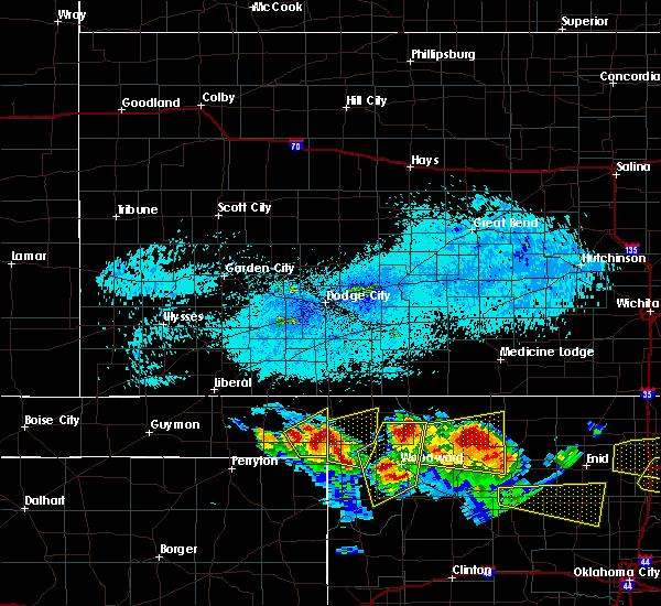 Radar Image for Severe Thunderstorms near Gate, OK at 7/11/2020 8:32 PM CDT