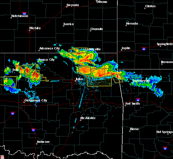 Radar Image for Severe Thunderstorms near Foyil, OK at 7/11/2020 8:36 PM CDT