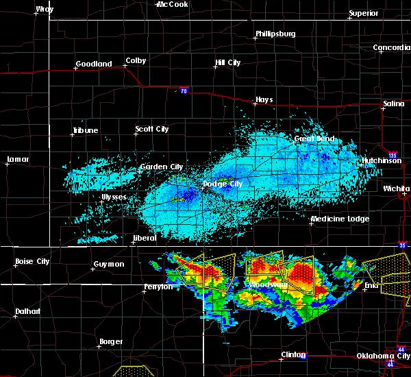 Radar Image for Severe Thunderstorms near Gate, OK at 7/11/2020 8:45 PM CDT