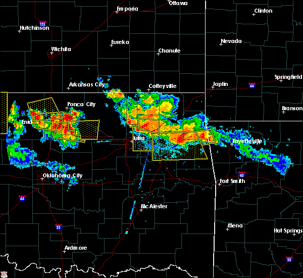 Radar Image for Severe Thunderstorms near Foyil, OK at 7/11/2020 8:51 PM CDT