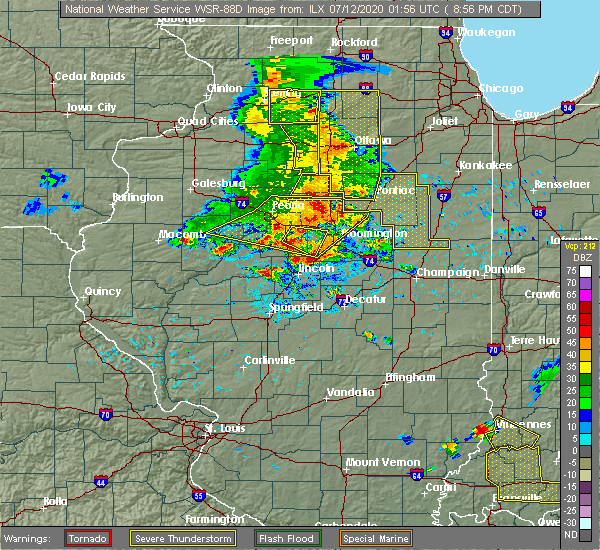 Radar Image for Severe Thunderstorms near Twin Grove, IL at 7/11/2020 9:01 PM CDT
