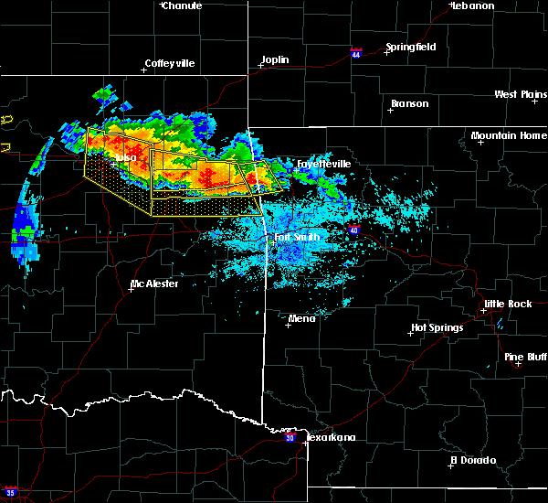 Radar Image for Severe Thunderstorms near Bell, OK at 7/11/2020 9:21 PM CDT