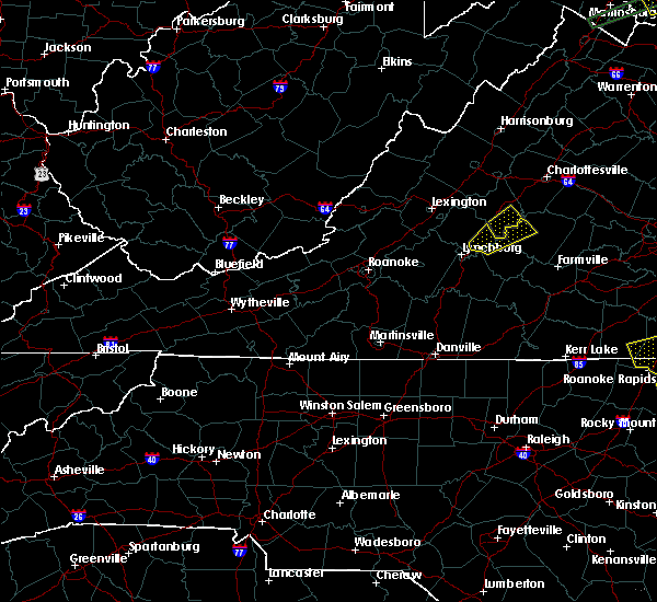 Radar Image for Severe Thunderstorms near Daleville, VA at 6/30/2015 10:25 PM EDT